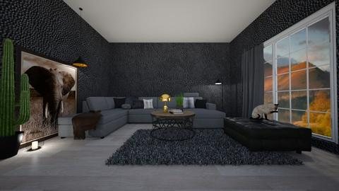 Shadows  - Living room - by T I A N A