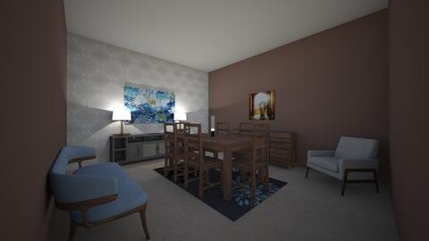 Conventinol dinning area - Modern - Dining room - by callumip9