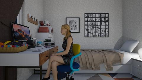 WFH - Bedroom - by sasasaaaw