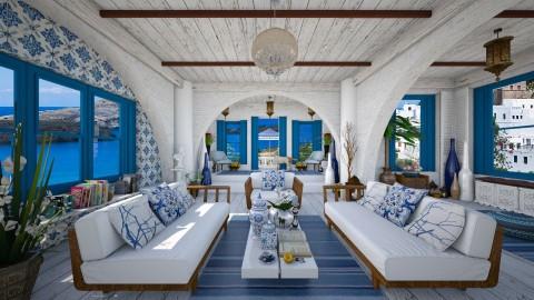 Design 70 Santorini Living - Living room  - by Daisy320