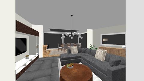Tielrode veranda - Modern - Living room  - by DELANE86