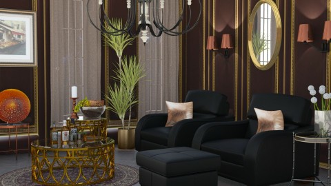 M_Eye Catcher Nook - Eclectic - Living room  - by milyca8