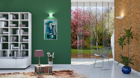with Picasso - Modern - Living room  - by barnigondi
