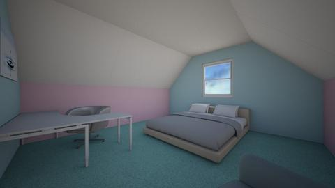 Cotton Candy Angle 3 - Bedroom  - by Karma Hitachinn