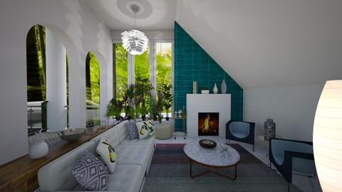Miami oasis  - Living room - by ppolicar