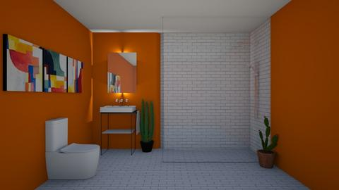 Cacti Bathroom - Bathroom  - by house17