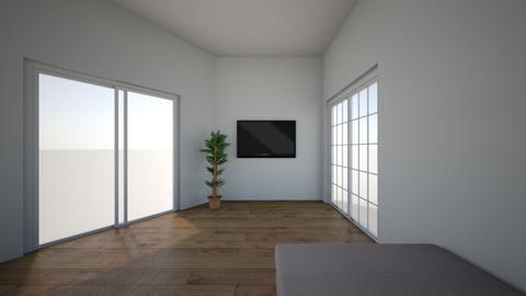 Angled Room - Living room  - by rvinluan
