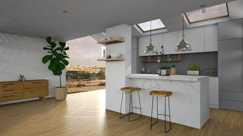 White  - Modern - Kitchen  - by tolo13lolo