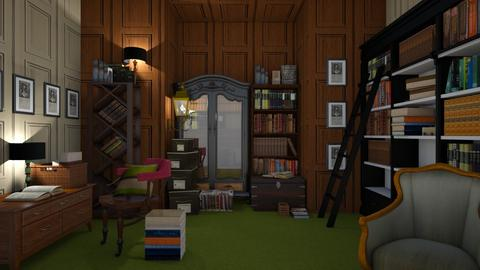 Library - Classic - Office  - by XiraFizade