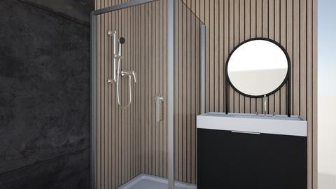 DAVIDOV - Bathroom  - by MorOrDesign