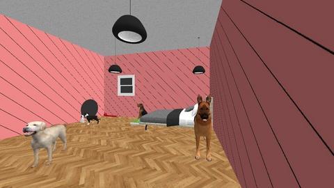 Poppys Dog Room  - Modern - Bedroom - by Flowery2007