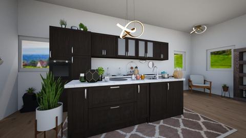 MCM Kitchen - Classic - Kitchen  - by Isaacarchitect
