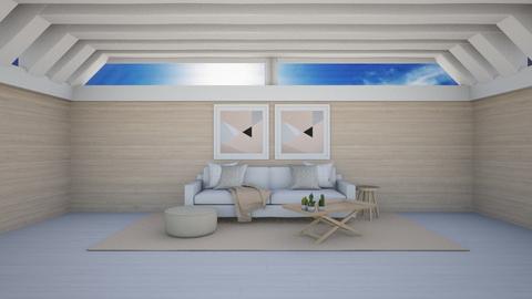 Natural light_simple attic - by Aristar_bucks
