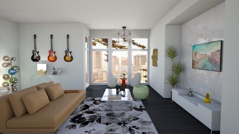 Modern Living Room - Living room - by kyrabaldwin