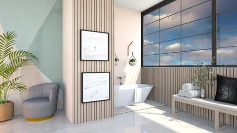 Puck - Bathroom  - by Meghan White