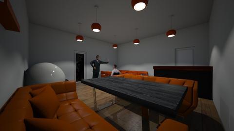Dream Restaurant  - Modern - Dining room  - by riordan simpson