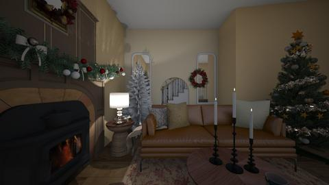 Christmas Room - Living room  - by ellaemayo