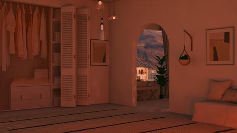 Remix_Greek_Simple - Modern - Bedroom  - by FANGIRLdesigner