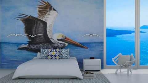 Ocean Bird Lover - Modern - Bedroom  - by bgref