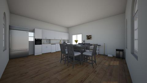 kitchen and dining room - Kitchen  - by Katie245