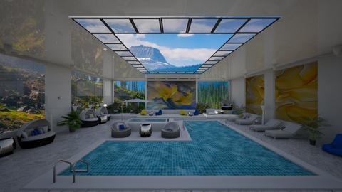 Indoor pool - by Alexandra_21
