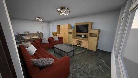 WZ Stella - Living room  - by dianamezdrea