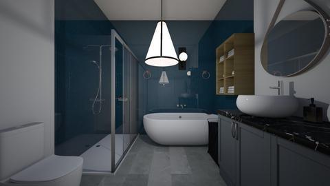 Nathalia Castillo - Bathroom  - by Gata peligrosa