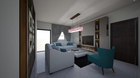 uka ref ogbudu - Living room  - by jfx