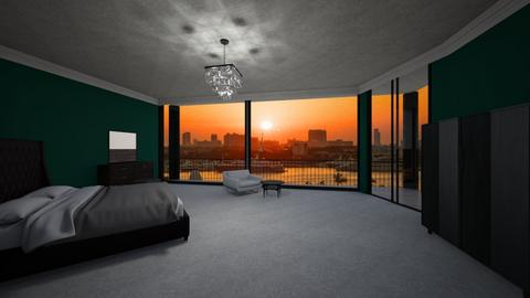 3915 Dixie Canyon Ave - Modern - Bedroom  - by sfurkan