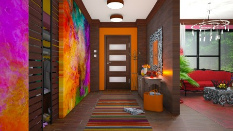 my colorful home  - Eclectic - by Ida Dzanovic