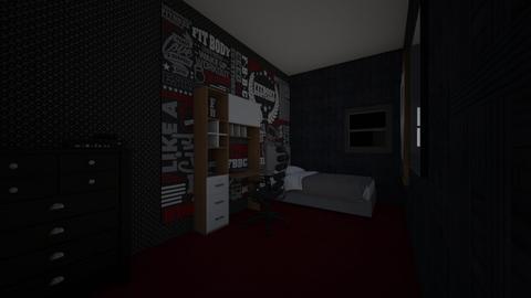 my dream bedroom - Modern - Bedroom  - by Big tuss