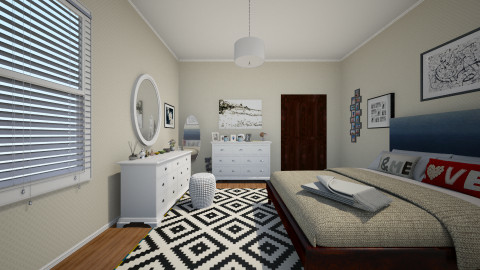 1 - Bedroom - by Zozan Deryalar
