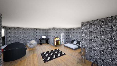 dream room - Bedroom  - by Gbar0944