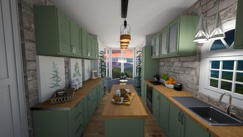 Green Rooms - Kitchen  - by kristina_bina