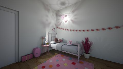 pink - Kids room - by thatsmeeeeee