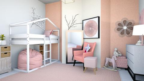 coralgirlsroom - Country - Kids room  - by tahliawaters