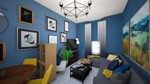 Living Room V2 - Living room  - by NinaBossicart