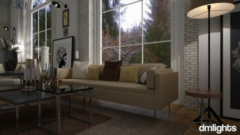 Loft Living room - by DMLights-user-1468788