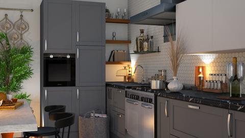 Eclectic K - Kitchen  - by zarky