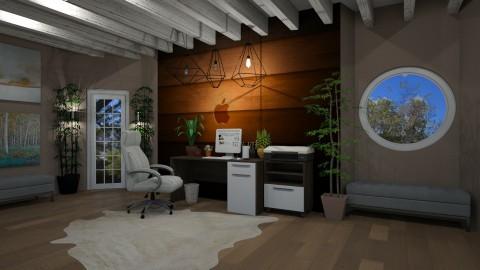 apple desk - Office - by mackenzie3