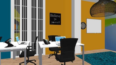 Thinking space - Office  - by Bwogyi