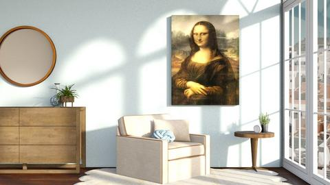 Mona Lisa - Living room - by Cameroni