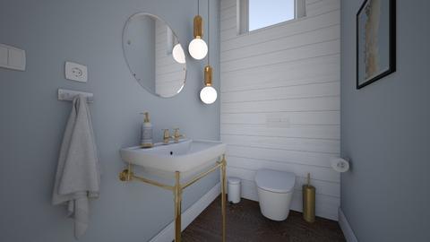 Modern country house3 - Bathroom  - by AleksandraZaworska98