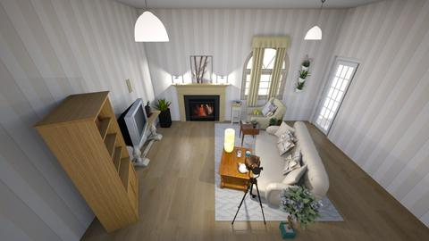 vintage home - Vintage - Living room  - by floofus