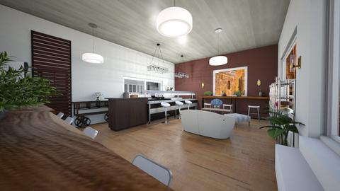 salon sukulento - Kitchen  - by sami1968