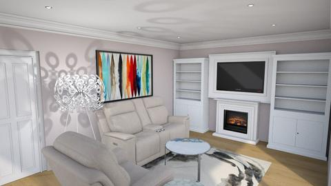 Family Room - by shweta_openremodel