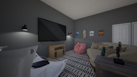 family movie room - by evrska