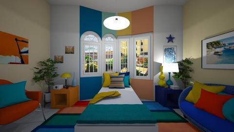 Bay Window Demo - Eclectic - Bedroom  - by Irishrose58
