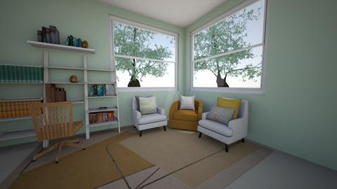 High school reading nook  - Office  - by keirabuck27