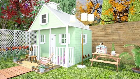 Mini patio - by Nari31